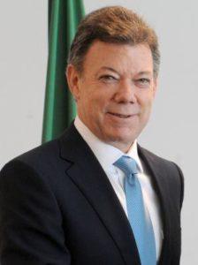 Il presidente colombiano Juan Manuel Santos. Fonte: richestcelebrities.org