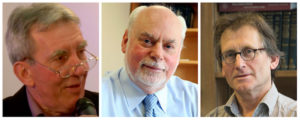 Vincitori del premio Nobel per la chimica. Fonti: (Le Village de la Chimie via YouTube/Northwestern University/Wybe via Wikipedia)