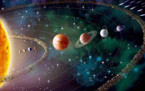 Rappresentazione del nostro Sistema Solare (fonte: sushi168.com)
